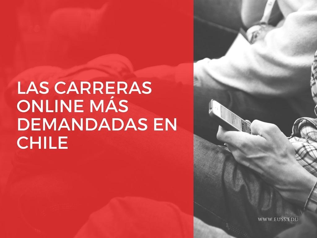 Las carreras online más demandadas por los estudiantes chilenos